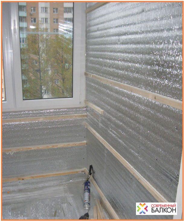 Пенофол утепление балконов и лоджий.