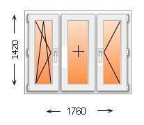 Расчет пластиковых окон дома п 44/ п44т/ п3/ п3м/ п46/ ii57 .