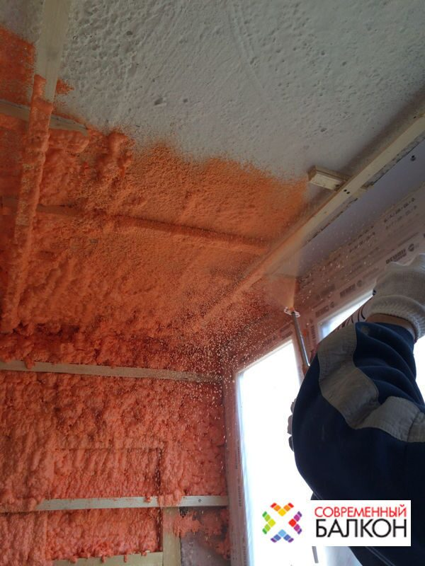 Утепление балконов и лоджий напылением в москве но низкой це.