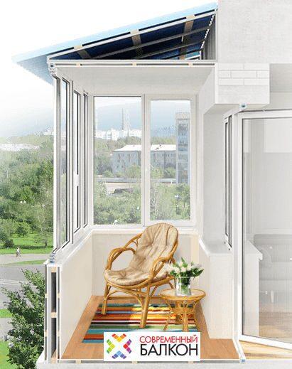 сколько стоит застеклить балкон москва