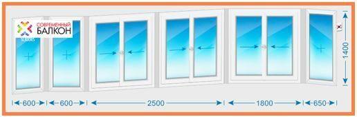 Остекление балконов и лоджий в доме серии пд-4 цена пластико.