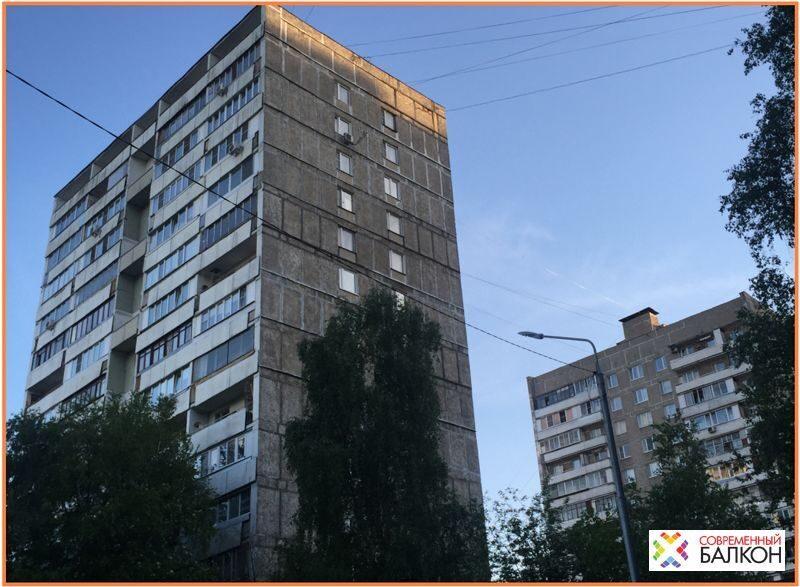 Остекление балконов в доме и209 по низкой цене пластиковыми .