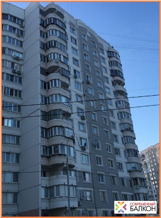 Остекление балконов в доме серии п3м цена на пластиковое ост.