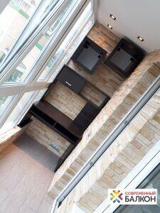 Ремонт балконов под ключ в Москве