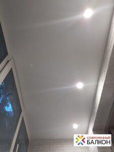 Ремонт балкона лоджиии 3 метра  под ключ